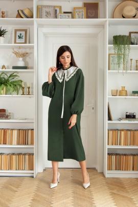 Платье LadisLine 1404 изумруд