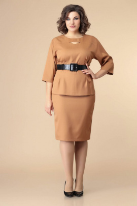 Блуза, Юбка, Ремень Romanovich Style 2-2201 рыжий