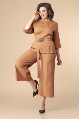 Брюки, Блуза, Ремень Romanovich Style 2-2202 рыжий