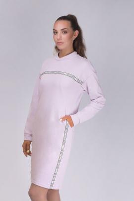 Платье Verally 436-1 сиреневый