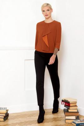 Блуза VIZANTI 8035 коричневый