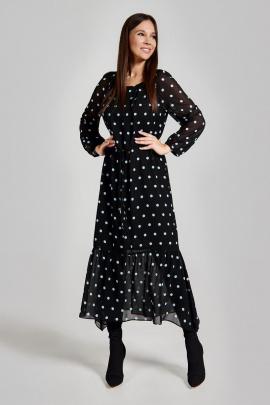 Платье FOXY FOX 1310 черный_голубой