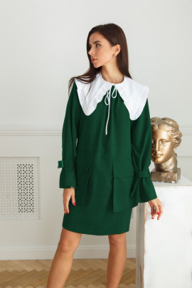 Платье LadisLine 1402 изумруд