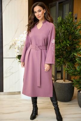 Платье Anastasiya Mak 904 сиреневый