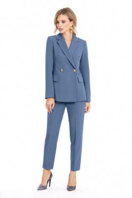 Женский костюм PiRS 916 холодный_голубой