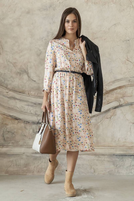 Платье ARTiMODA 321-03 бежевый