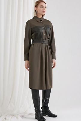 Платье Moveri by Larisa Balunova 5035D олива
