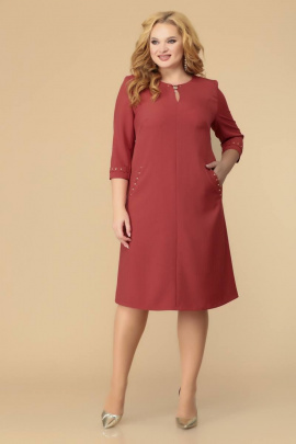 Платье Romanovich Style 1-1729 темный_лосось