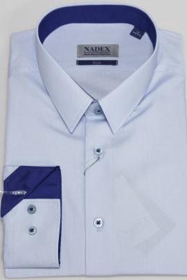 Рубашка Nadex 01-046711/204_182 голубой