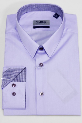 Рубашка Nadex 01-046711/204_170 сиреневый