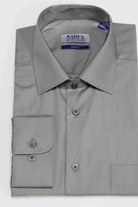 Рубашка Nadex 01-070913/204_170 оловянный