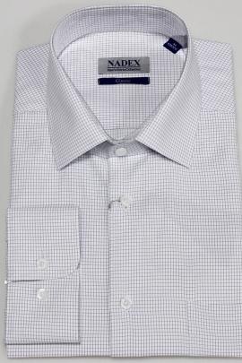 Рубашка Nadex 01-070913/403_182 бело-фиолетовый