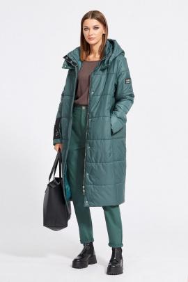 Пальто EOLA 2079 изумруд