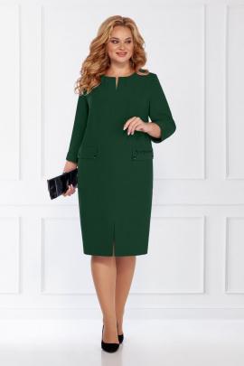 Платье БагираАнТа 726 зеленый