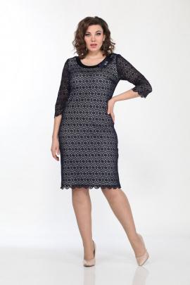 Платье Lady Style Classic 427/1 темно-синий
