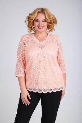 Блуза, Топ SOVITA M-692 персик