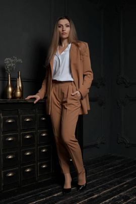 Женский костюм Effect-Style 803 рыжий