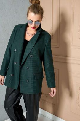 Жакет SOVA 11162 зеленый