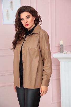 Рубашка Solomeya Lux 858 коричневый