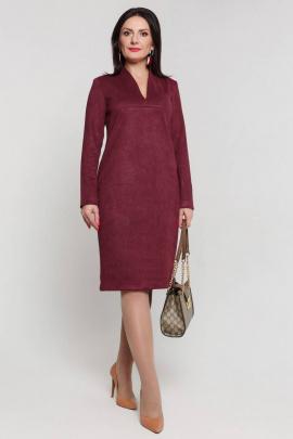 Платье Дорофея 540 бордовй