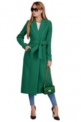 Пальто PATRICIA by La Cafe NY14825 зеленый