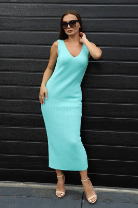 Платье Romgil ТЗ638Х бирюзовый