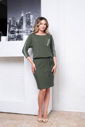 Платье Nalina 3048 оливка