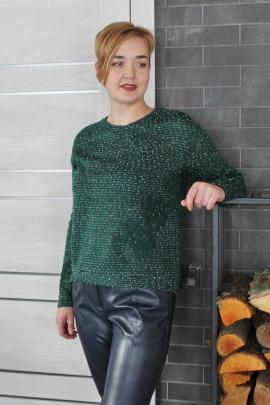 Джемпер Condra 16121 зеленый-молочный
