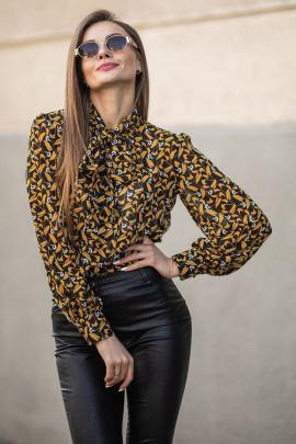 Блуза JKY ВА-006 горчичный