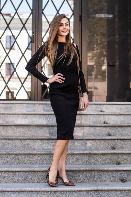 Платье JKY DA-018 черный