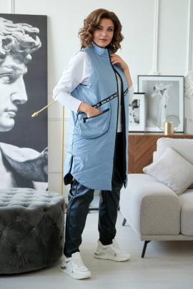 Жилет Rumoda 2042/1 серо-голубой