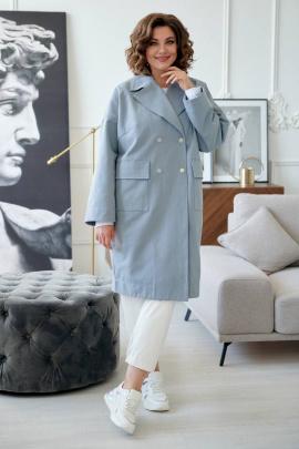 Пальто Rumoda 2020/1 серый