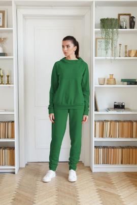 Брюки, Свитшот LadisLine 1386 зелень