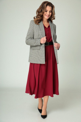 Жакет, Платье Арита-Denissa 1278 красный