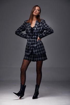 Жакет, Шорты Andrea Fashion AF-189 черный