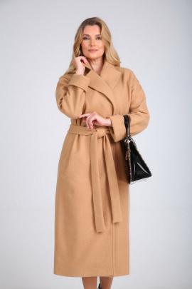 Пальто SandyNa 130604 песочный