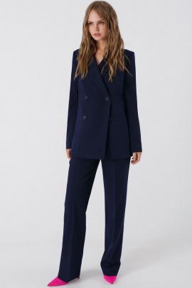 Женский костюм PiRS 1665 темно-синий