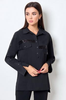 Блуза БелЭкспози 1409 черный
