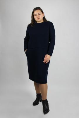 Платье Полесье С4663-20 0С2081-Д43 164 морской_синий