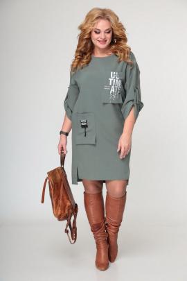 Платье Taita plus 2133/1 светлая_зелень