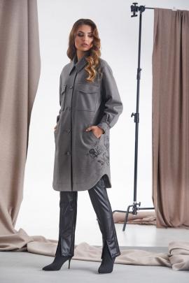 Пальто Rami 1068 серый