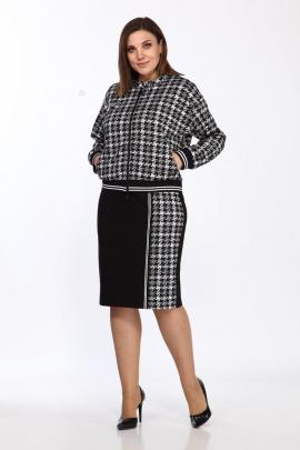 Комплект Lady Style Classic 2385 черный-белый