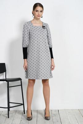 Платье Alani Collection 1542 серый
