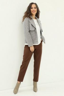 Комплект Магия моды 2010 серый+шоколад