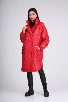 Пальто Diamant 1728 красный