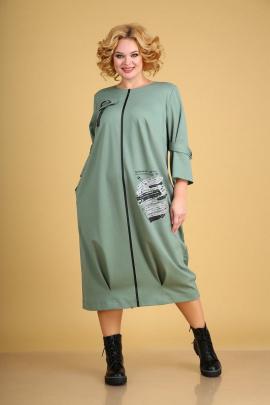 Платье Ксения Стиль 1939 мята