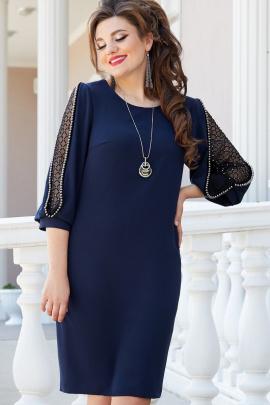 Платье Vittoria Queen 14793/1 темно-синий