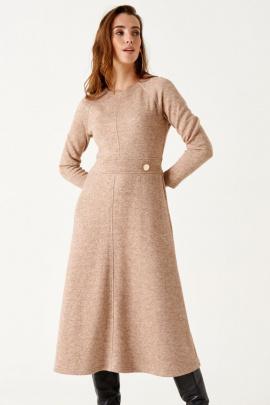 Платье ELLETTO LIFE 1862 бежевый