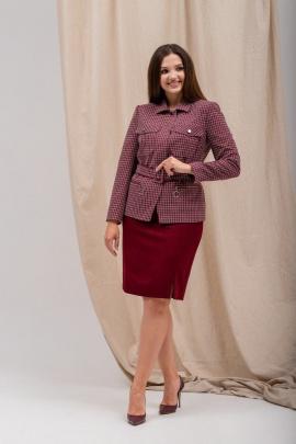Женский костюм Angelina 683 бордо