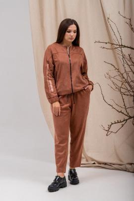 Комплект Angelina 682 коричневый